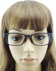 PLAY MOUSE F5112 TR90 กรอบแว่นตาสีดำด้าน ขาแว่นสีดำด้าน