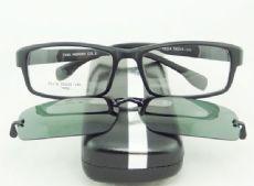 PLAY MOUSE F5114 TR90 กรอบแว่นตาสีดำด้าน ขาแว่นสีดำด้าน