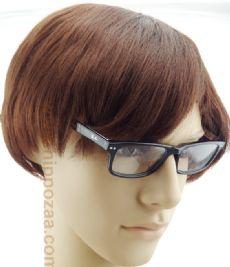 RAY-BAN กรอบแว่นตา Acetate Frame สีดำ ขาแว่นสีดำ/พื้นขาวอักษรสีแดง