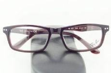 RAY-BAN กรอบแว่นตา Acetate Frame สีไวน์แดง ขาแว่นสีไวน์แดง