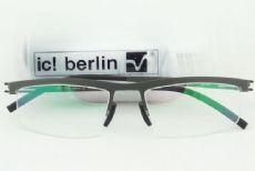 ครึ่งกรอบแว่นตา ic! berlin model noah a. frame gun metal