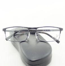RAY-BAN กรอบแว่นตา Stainless Frame สีดำ ขาแว่นสีดำ/เทา