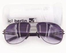 แว่นตากันแดด ic! berlin model guenther n. frame black