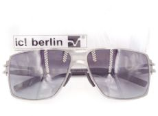 แว่นตากันแดด ic! berlin model rashid frame gun metal