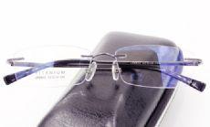 IP -TITANIUM ไร้กรอบแว่นตา TITANIUM FRAME สีรมดำ