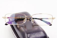 IP -TITANIUM กรอบแว่นตา TITANIUM FRAME สีทอง