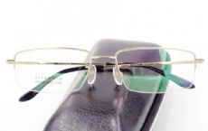 IP -TITANIUM ครึ่งกรอบแว่นตา TITANIUM FRAME สีทอง