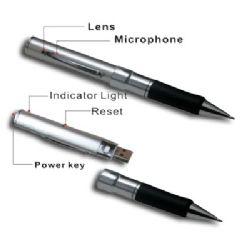 กล้องปากกา ขนาดความจุ 16GB.