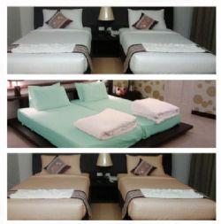 ชุดผ้าปูที่นอนพร้อมปลอกหมอน Singel Set