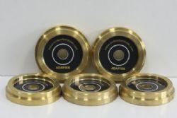 ตัวรอง 45 & Laser Disk ทองเหลือง (Welove)