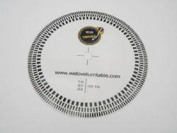 แผ่น PVC วัดรอบเล็ก (Welove)