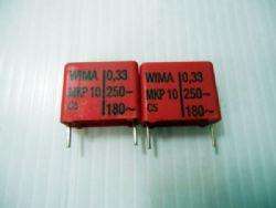 0.33 uf/250VDC