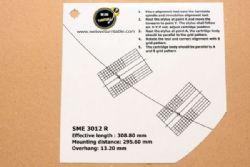 แผ่น PVC Set Up หัวเข็ม SME 3012 R (New)
