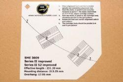 แผ่น PVC Set Up หัวเข็ม SME 3009 (Welove)