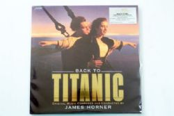 James Horner - Back To Titanic OST. (Gold Vinyl)