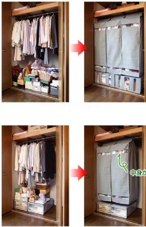 ตู้เสื้อผ้าแบบเคลื่อนย้ายง่าย