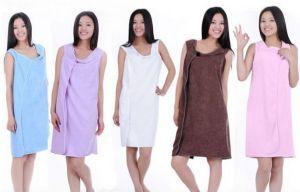 ของใช้ส่วนตัว : 2-in-1 ผ้าเช็ดตัว/เสื้อคลุมอาบน้ำ (ผู้ใหญ่)