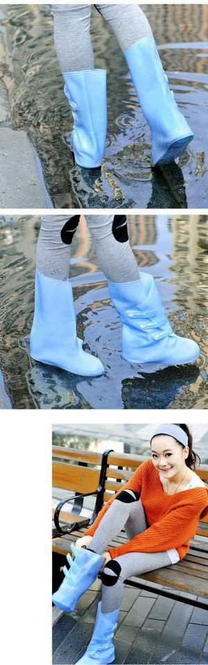 ปลอกรองเท้าทรงบูทกันน้ำกันฝน