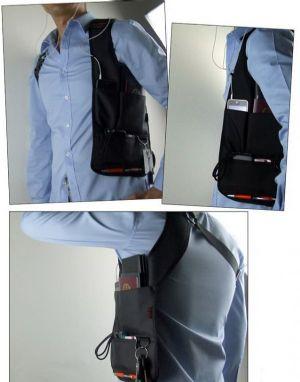 กระเป๋าเป้ FBI อย่างเท่ คล่องตัว