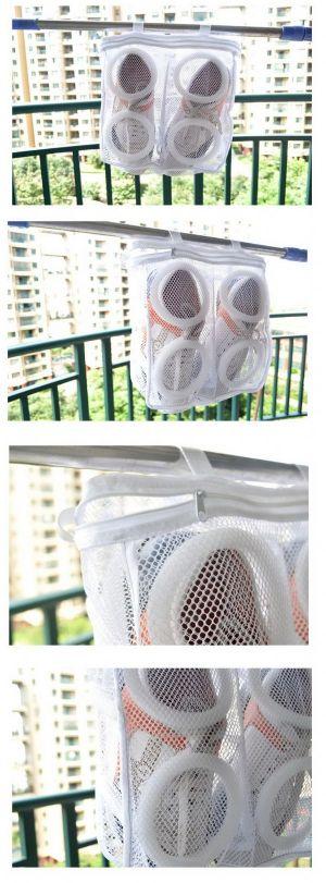 ถุงผ้าสำหรับซักรองเท้าผ้าใบ