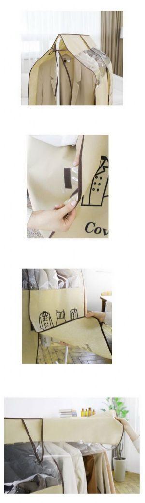 ของใช้ในบ้าน : ผ้าคลุมราวแขวนเสื้อผ้ากันฝุ่น