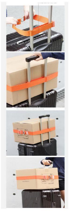 ของใช้เดินทาง : สายรัดกระเป๋าเดินทาง smart belt ตัวช่วยขนสัมพาระ