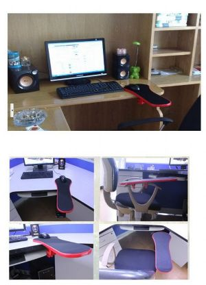 arm rest mouse pad  ที่วางแขนพร้อมแผ่นรองเม้าท์