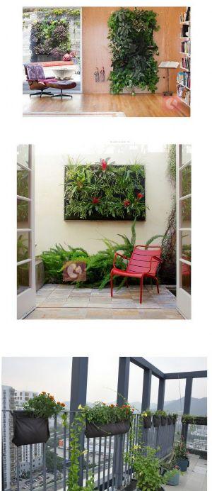 green wall กระเป๋าผนังสวนแนวตั้ง (4 ช่อง)