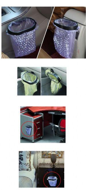 เฟรมยึดถุงใส่ขยะในรถ