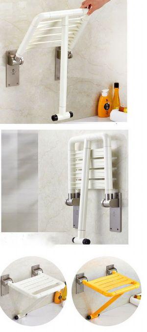 เก้าอี้อาบน้ำติดผนังพับได้