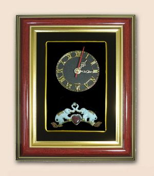 ของที่ระลึกกรอบนาฬิกาลายช้าง
