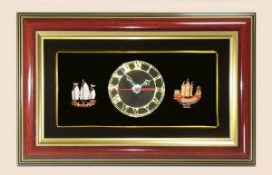 ของพรีเมี่ยมกรอบคู่นาฬิกา Set เรือ