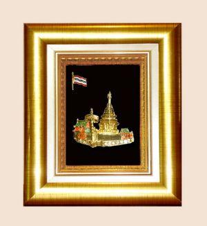 ของพรีเมี่ยมกรอบทองลายไทย