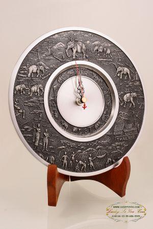 นาฬิกาจานโชว์