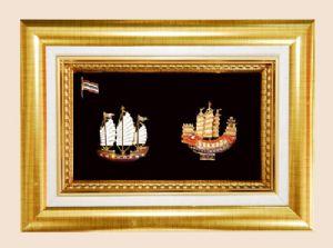 ของพรีเมี่ยมกรอบทองคู่ลายไทย A26 A27