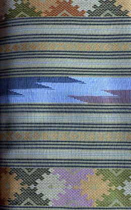 ผ้าฝ้ายตัดชุดลายน้ำไหล