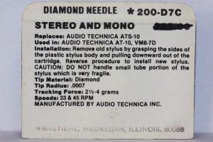 ปลายเข็มแท้ Audio-Technica ATS-10 (Original Box)