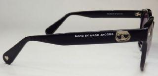 MARC JACOBS  กรอบแว่นกันแดด Acetate Frame สีดำ เลนส์ไล่สีม่วงอ่อน