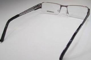 CARRERA  ครึ่งกรอบแว่น Stainless Frame สีรมดำ ขาแว่นสีดำ-รมดำ-ดำ