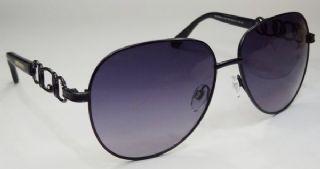 BVLGARI กรอบแว่นกันแดด Stainless Frame สีดำ ขาแว่นสีดำ