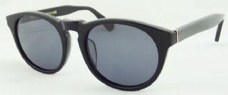SUPER กรอบแว่นกันแดด Aetate Frame สีดำ  เลนส์สีม่วง