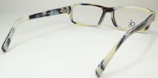 Calvin Klein กรอบแว่นตา Acetate Frame สีเล่นลาย ขาแว่นสีเล่นลาย