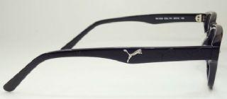 PUMA  กรอบแว่นตา Acetate Frame สีดำ  ขาแว่นสีดำ
