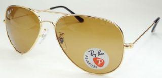 RAY-BAN RB3025 AVIATOR กรอบแว่นกันแดดสีทอง