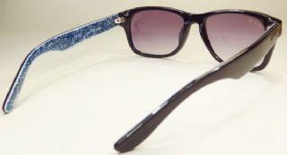 Levis กรอบแว่นกันแดด Acetate Frame สีดำ เลนส์ไล่สีม่วง
