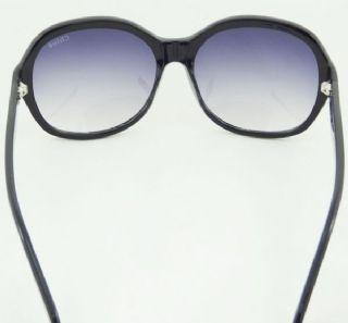 Chloe กรอบแว่นกันแดด Aetate Frame สีดำ  เลนส์ไล่สีม่วงอ่อน