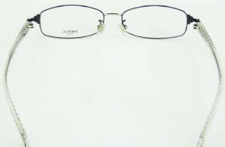 PORTS  กรอบแว่นตา Stainless Frame สีดำ  ขาแว่นลายสีใส/ดำ