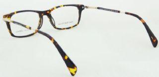 GIORGIO ARMANI กรอบแว่นตา Acetate สีน้ำตาลกระ ขาแว่น Stainless (Acetate สีน้ำตาลกระ)