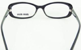 miu miu กรอบแว่นตา Acetate Frame สีดำ ขาแว่นสีดำ
