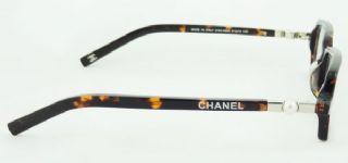 CHANEL กรอบแว่นตา Acetate Frame สีน้ำตาลกระ ขาแว่นสีน้ำตาลกระ
